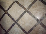 Bathroom Floor - Rocky Mountain Tile and Stone